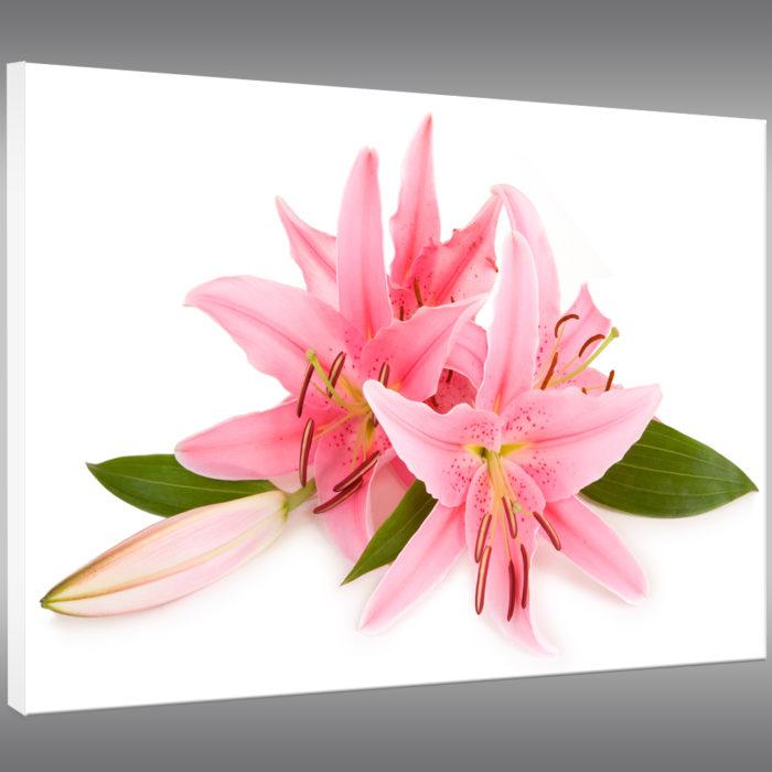tableau deco fleur pas cher
