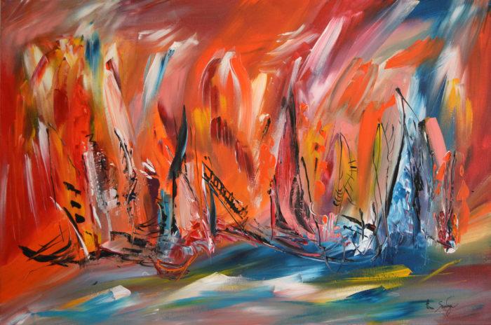 tableaux modernes abstraits