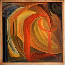 tableau abstrait design
