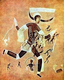art africain peinture