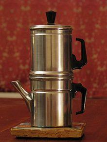 cafetière filtre isotherme