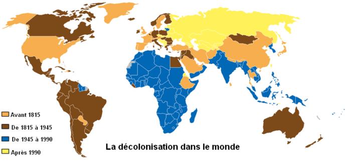 carte de monde