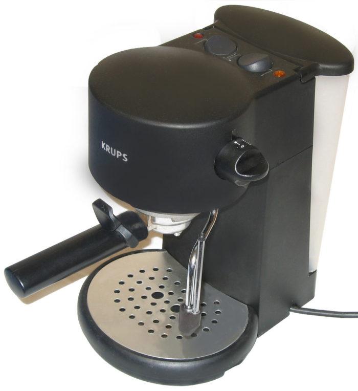 machine à café à dosette souple