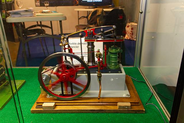 machine à vapeur miniature