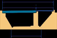 mur de cadres