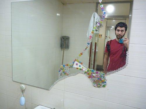 autocollants salle de bain