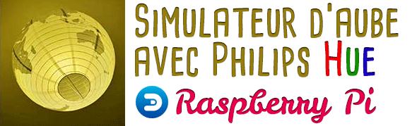 simulateur d'aube philips