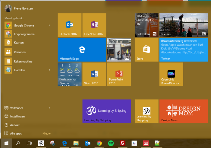 agenda google pour windows 10