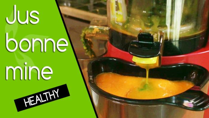 recette jus légumes extracteur