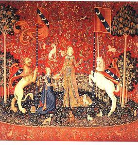 tapisserie la dame a la licorne analyse