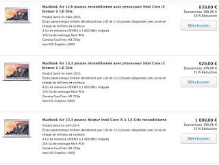 Acheter mac book air