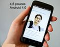 smartphone 4.5 pouces