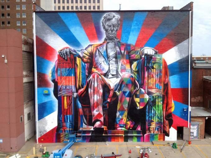 tableau graffiti street art