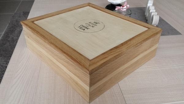 boite à thé en bois