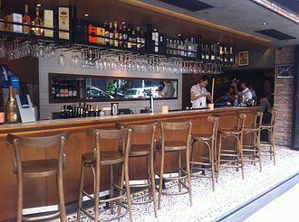 comptoir pour bar