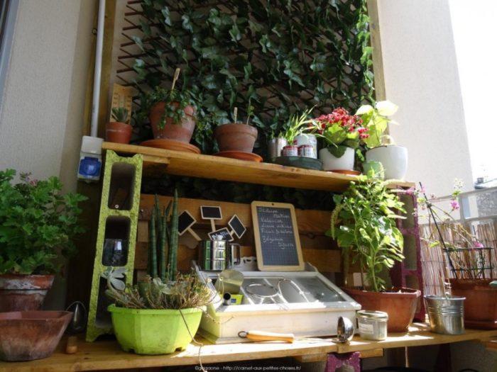 etagere exterieur pour plantes