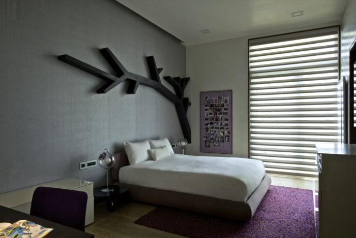 etagere murale pour salon