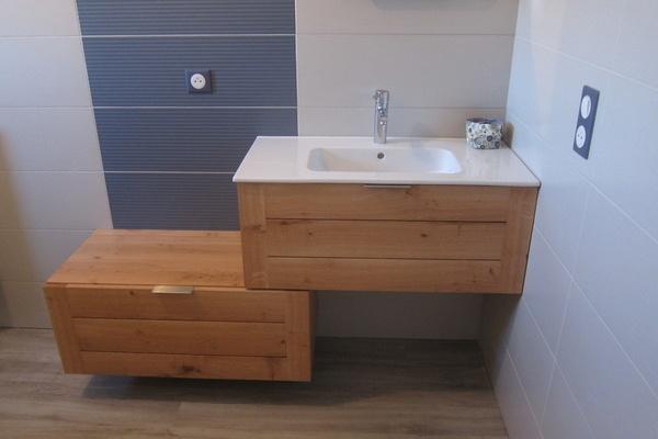 étagères pour salle de bain