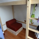 lit d appoint dans meuble