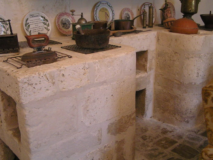 meuble à rideau pour cuisine