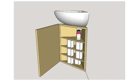 meuble angle bois