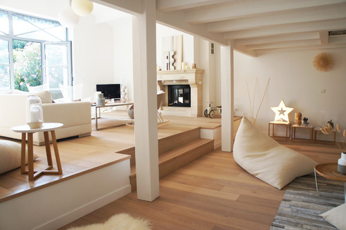 meuble tv bibliothèque design