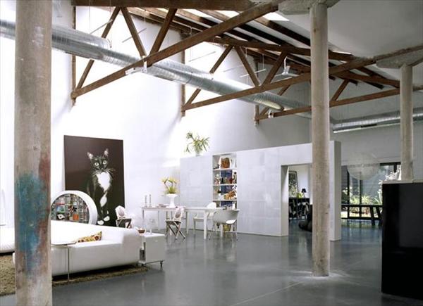meuble tv design industriel