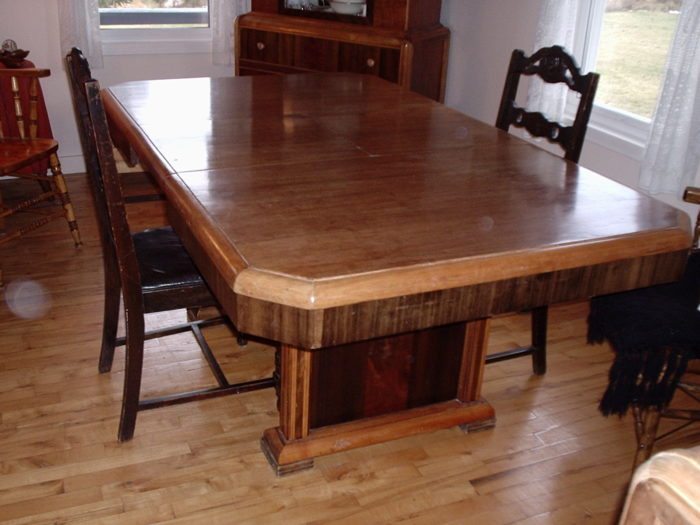 table basse design beton
