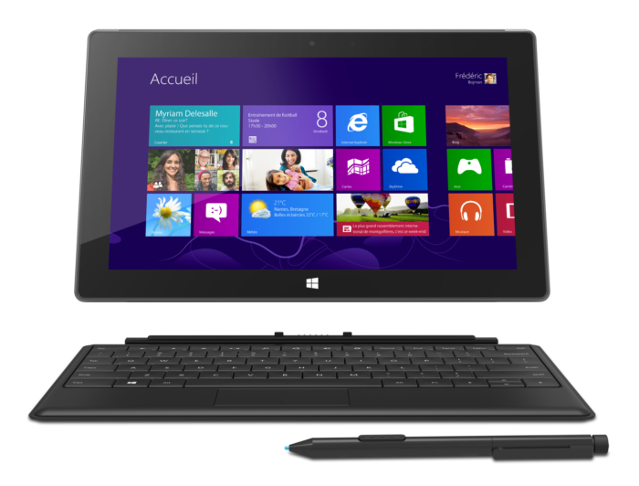 tablette windows surface pro