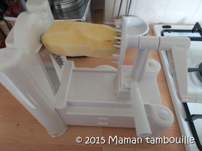 appareil pour couper les frites