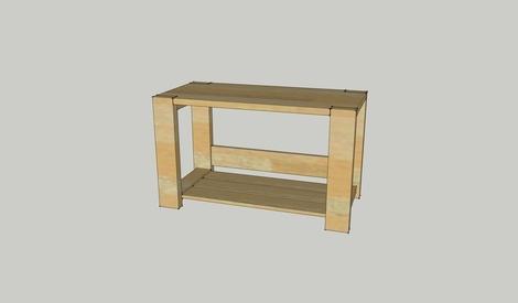 banc d entrée en bois