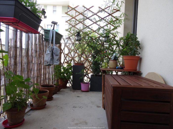 banc pour balcon