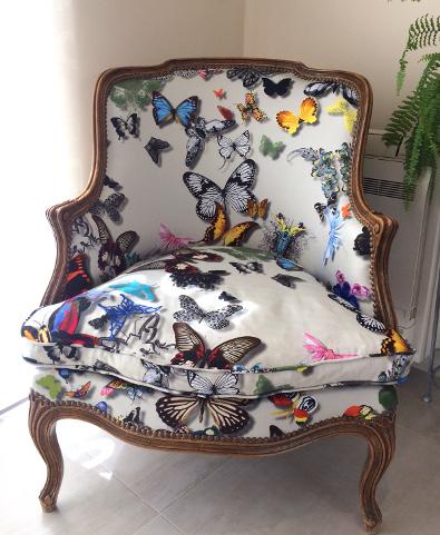 baroque fauteuil