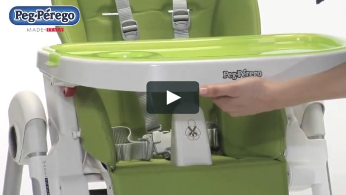 chaise haute bebe reglable en hauteur