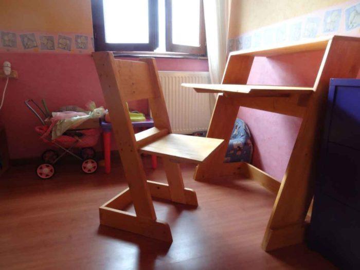 chaises bureau enfant