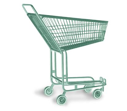 chariot à roulettes pour les courses