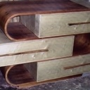 commode contemporaine en bois