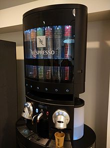 distributeur capsule nespresso design