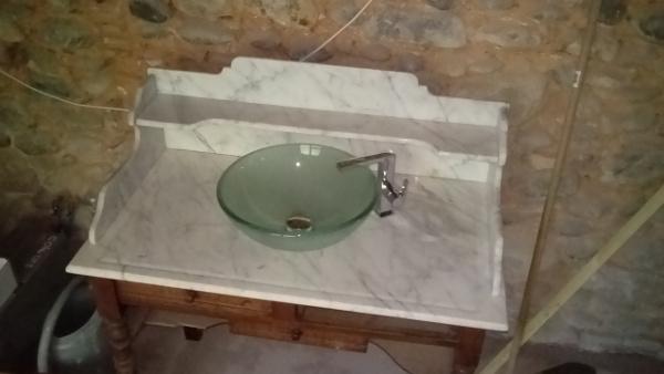 étagère douche