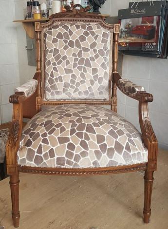 fauteuil cabriolet en cuir