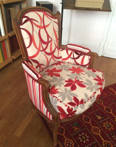 fauteuils bergere