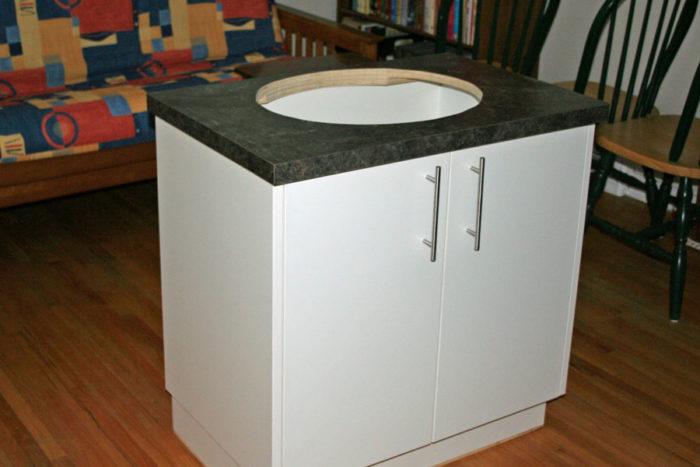 lavabo bois