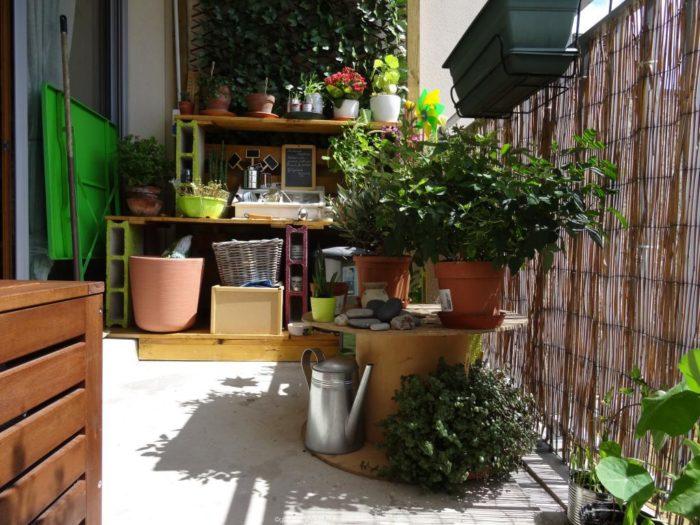 meuble balcon extérieur