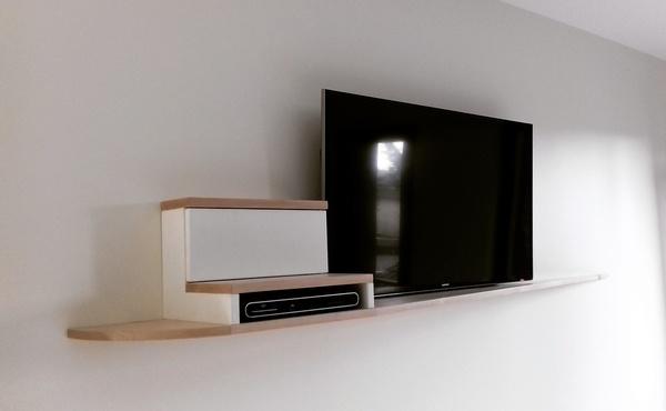 meuble de tele suspendu