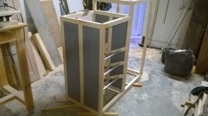 meuble rangement escalier