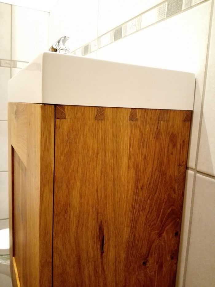 meubles sous vasque bois