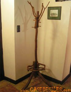 porte manteau design arbre