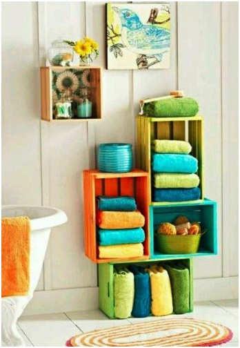 porte serviette pour porte de salle de bain