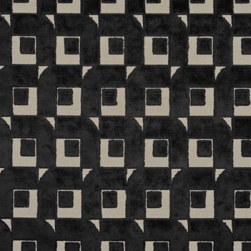 rideaux velours noir