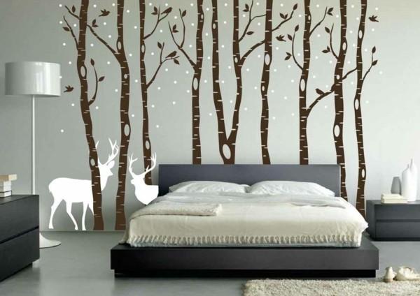 sticker mural arbre